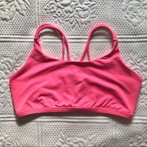 Ivivva Hot Pink Sports Bra | 12
